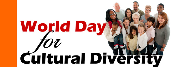 World Day for Cultural Diversity  IMAGES, GIF, ANIMATED GIF, WALLPAPER, STICKER FOR WHATSAPP & FACEBOOK