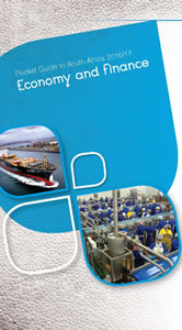 Cover page of Economy Chapter in South Africa Pocket Guide