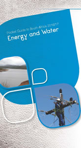 Cover page of Energy and Water chapter in South Africa pocket guide