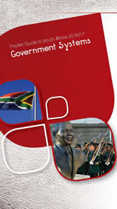 Cover page of Government Systems chapter in Pocket Guide to South Africa