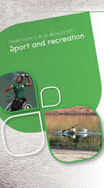 Cover page of Sport and Recreation chapter of South Africa Pocket Guide