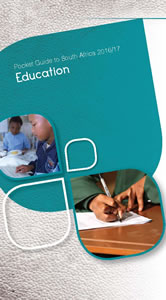 Cover page of Education chapter in South Africa Pocket Guide