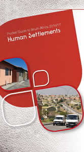 Cover page of Human Settlements Chapter in Pocket Guide to South Africa 2016/17