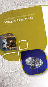 Cover page of Mineral Resources chapter in South Africa Pocket Guide