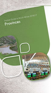 Cover page of Provinces chapter in South Africa Pocket Guide