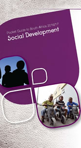 Cover page of Social Development chapter in South Africa Pocket Guide