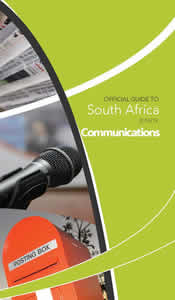 Cover page of Communications Chapter in Official Guide to South Africa 2018/2019