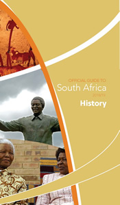 Cover page of History Chapter in Official Guide to South Africa 2018/2019