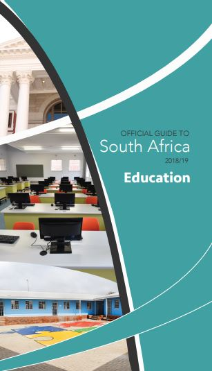 Cover of Education chapter in Official Guide to South Africa 2018/2019