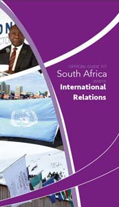 Cover page of International Relations chapter in Official Guide to South Africa 2018/2019