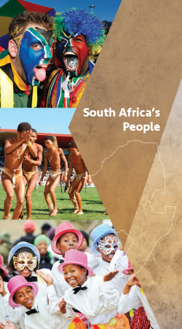 Cover page of people chapter in South Africa Pocket's Guide
