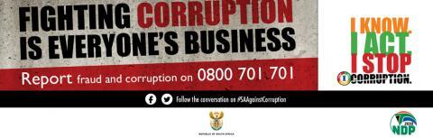www.gov.za - National Anti-Corruption Strategy