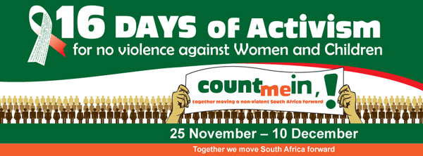16 days of activism banned